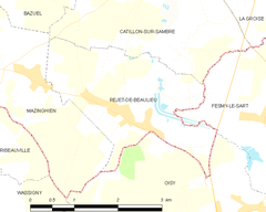 Map commune FR insee code 59496.png