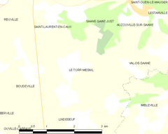 Map commune FR insee code 76699.png