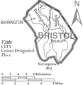 Map of Bristol County Rhode Island With Municipal Labels.PNG