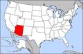 Map of USA highlighting Arizona.png