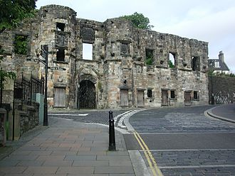 Battle of Stirling (1648) - Mars Wark: The Earl of Mar's house in Stirling, where the Marquess of Argyll was dining when the Battle of Stirling commenced.