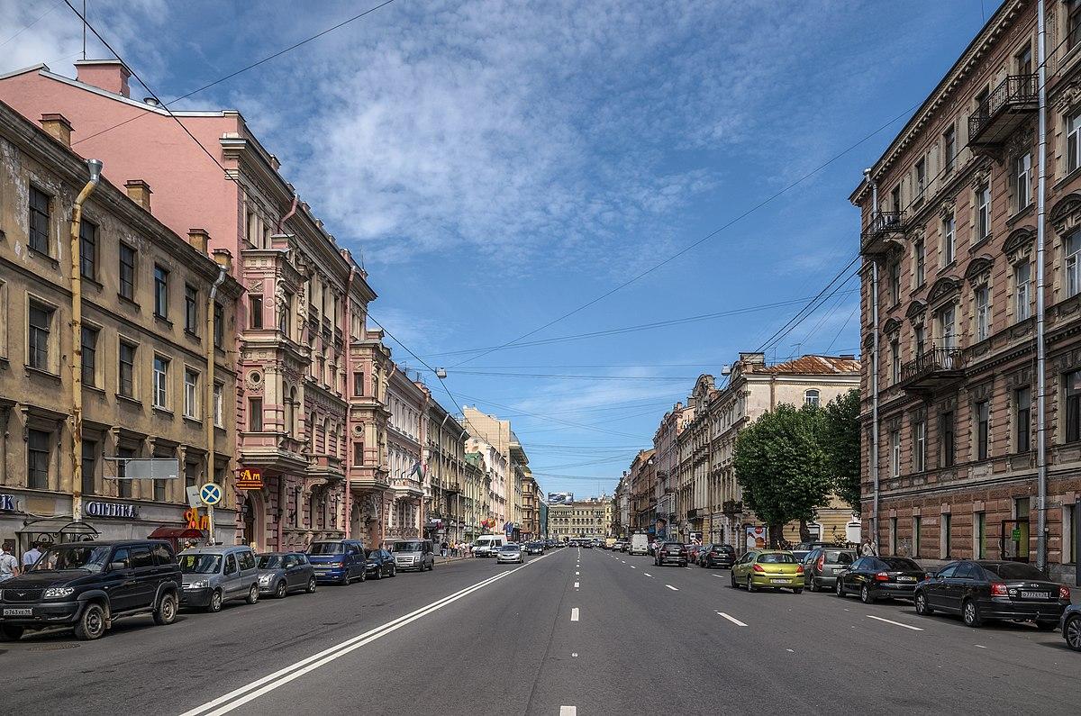 Улица Марата (Санкт-Петербург) — Википедия