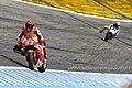 Marc Márquez and Valentino Rossi 2015 Jerez 4.jpeg