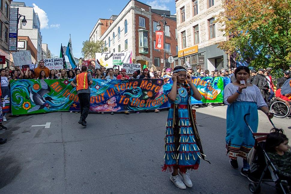 Marche pour le climat 27-09-2019 (Montréal) 04
