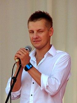 "Marcin Mroczek during IV Meeting Of Fans of the TV Series ""M jak miłość"" in Gdynia 2010 - 2.jpg"