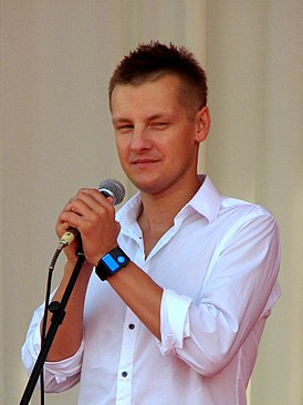 "Marcin Mroczek during IV Meeting Of Fans of the TV Series ""M jak miłość"" in Gdynia 2010 - 2.jpg"