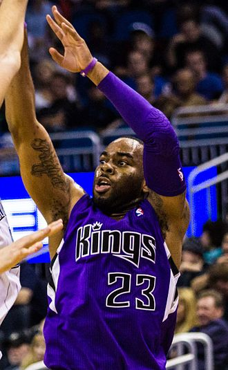 Marcus Thornton (basketball, born 1987) - Thornton with the Kings in December 2013