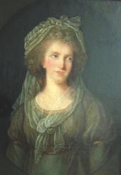 Maria Anna Czartoryska war zwischen 1784 und 1793 mit dem Herzog verheiratet. Die Ehe wurde geschieden. (Quelle: Wikimedia)