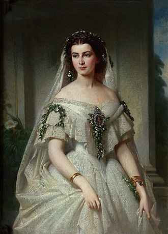 Maria Sophie of Bavaria - The last Queen consort of the Two Sicilies, 1859.