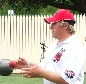 South Australia cricket team - Mark Cosgrove wearing South Australia's training gear