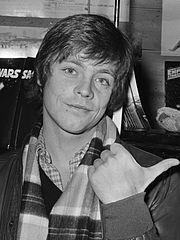Mark Hamill, acteur jouant Luke, en 1980
