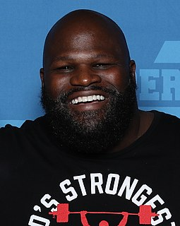 Mark Henry American wrestler, weightlifter and radio personality (born 1972)