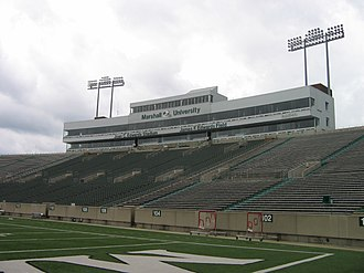 Joan C. Edwards Stadium - Image: Marshall Stadium 2