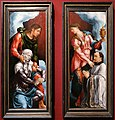 Marten van heemskerk, madonna con san giovanni evangelista, donatore e maria maddalena, 1540 ca. 01.jpg