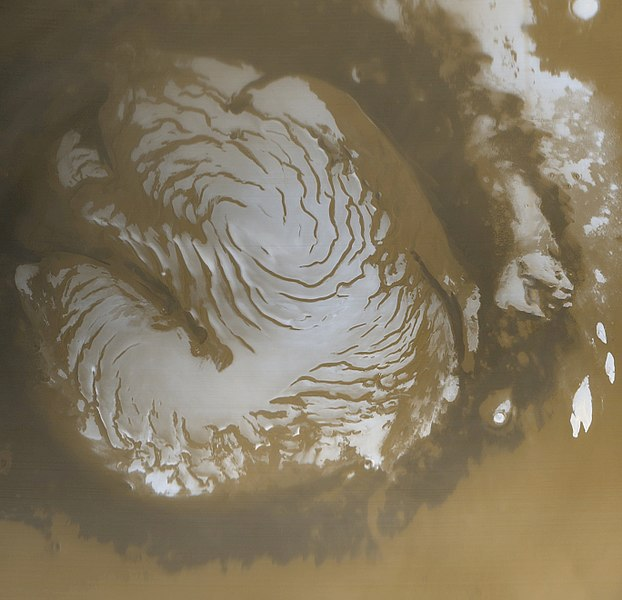 Файл:Martian north polar cap.jpg