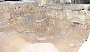 Monastery of Dumio - The vestiges of the basilica of Dumio unearthed during excavations around the Matriz Church in Dume