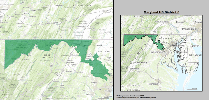 Maryland\'s 6th congressional district - Wikiwand