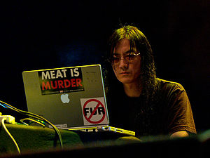 Noise music - Merzbow, prominent Japanoise musician, in 2007
