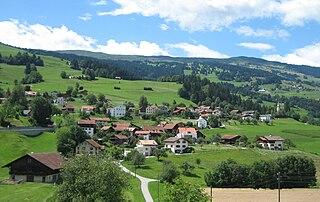 Masein Place in Graubünden, Switzerland