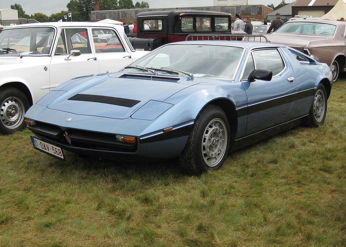 File:Maserati Merak 2000 GT (ie a V6 tax special).JPG ...