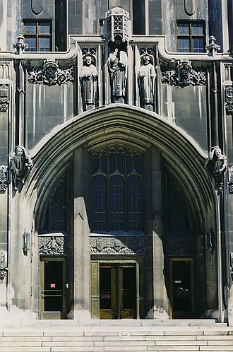Detroit Masonic Temple - Image: Masonic Temple Detroit 2
