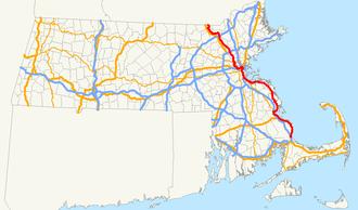 Massachusetts Route 3A - Image: Massachusetts Route 3A
