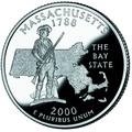 Massachusetts quarter, reverse side, 2000.png
