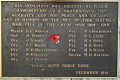 Matakana War Memorial - World War One Brass Plaque.jpg