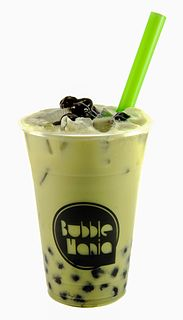 Bubble tea Tea-based drink with chewy bubbles
