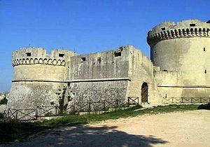 Matera - The Tramontano Castle