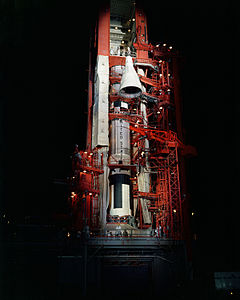 Mating of Gemini 4 with Titan rocket - S65-23710.jpg