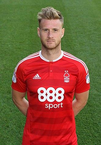 Matt Mills - Mills with Nottingham Forest in 2016