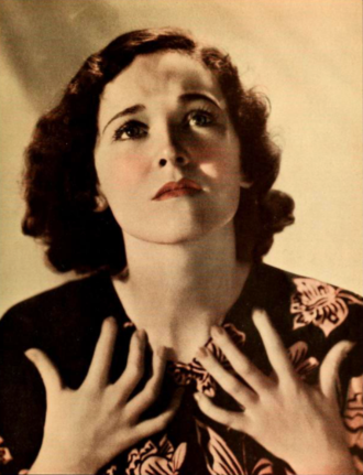 Maureen O'Sullivan - O'Sullivan in Photoplay, 1932