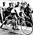 Maurice Richard recordman du monde de l'heure à Milan en octobre 1936.jpg