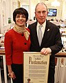 Mayor Bloomberg and Former IFI President Shashi Caan NYC Proclamation.jpg
