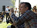 Mayor Eric Garcetti snaps some photos of the event (14775363098).jpg