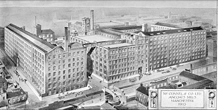 McConnel's Mills, 1913 McConnel & Company mills about 1913.jpg