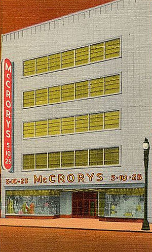 McCrory Stores - McCrory's in Syracuse, NY