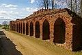 Medieval Brickwork, Thornton Abbey - geograph.org.uk - 1708615.jpg