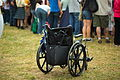Medieval Renaissance Fair Crowd and Empty Wheelchair (5722826436).jpg