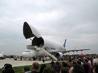 Méaulte - Airbus Beluga no.1 at the Albert-Picardie airport
