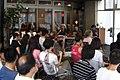 Meiji University School of Interdisciplinary Mathematical Sciences opened a public symposium at CAFE 246 in Aoyama, Tokyo.jpg