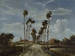 Мейндерт Гоббема: The Avenue at Middelharnis