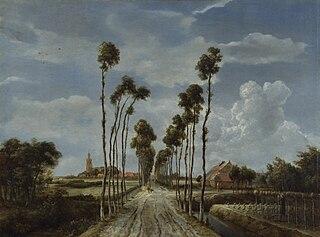 image of Meindert Hobbema from wikipedia