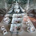 Meissen, 1800-1850 circa, servito con decoro floreale 00.JPG