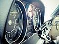 Mercedes-Benz W115 instruments cluster.jpg
