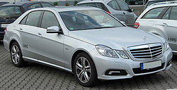 Mercedes-Benz E 250 CDI BlueEFFICIENCY (W212) Avantgarde saloon (Europe)