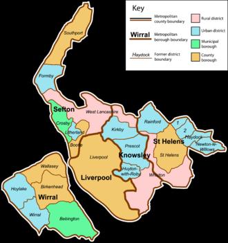 Merseyside - Image: Merseyside County