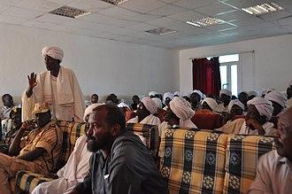 Abyei - Messiria elder in Abyei speaks to the PCA decision, November 2009