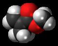 Methyl methacrylate molecule spacefill.png